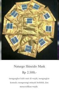 masker naturgo shiseido
