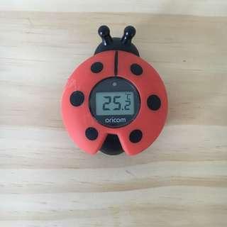 Baby Bath Ladybird Themometer •