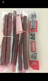 Organic grass fed beef sticks
