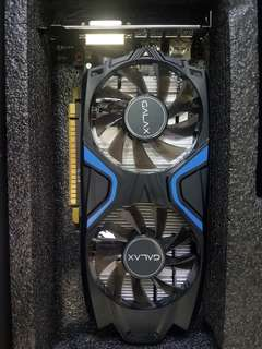 Graphic card  galax gtx 1050ti 4gb with reciept and  1year warranty