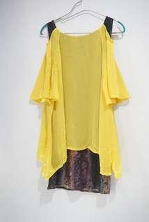 Dress berlengan panjang
