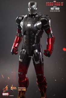 Hot toys Iron Man Mark XXII - Hot Rod
