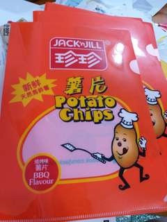 珍珍薯片A4 file文件套