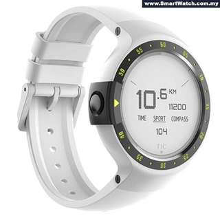 Ticwatch S Glacier best 2018 smartwatch most comfortable smartwatch
