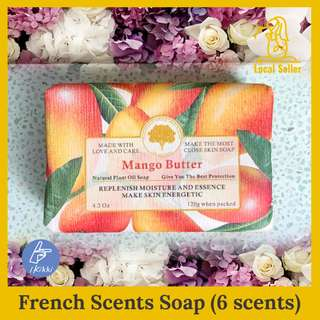 🌴🌹French Style Soap Bar 🌹🌴Alternative for shower gel. NonSensitive 4.2oz (120g) Summer Breeze. Natural Plant Oil