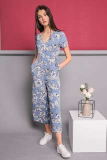 TSW Nellie Ellie Jumpsuit in Light Blue
