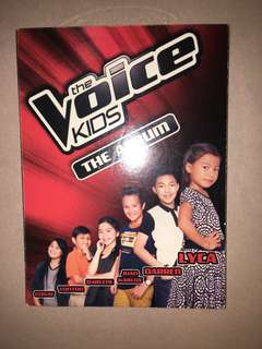 The Voice Kids Albums (with autographs)