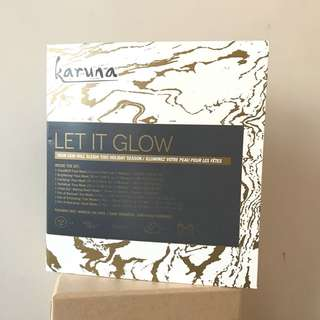 💖包順豐 Karuna let it glow kit (face mask, eye mask, hand mask and foot mask) x7