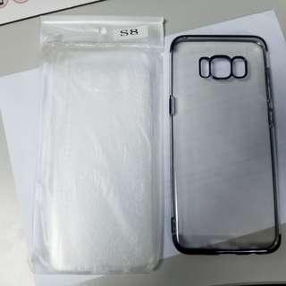 Samsung s8 手機套 手機殼 軟殼 共2個