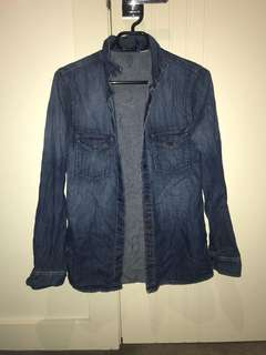 H&M denim shirt