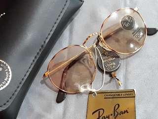Kacamata vintage Rayban BL Usa changeable lens Original
