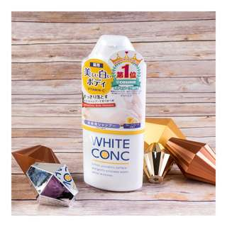 White Conc Body Shampoo / Body Lotion