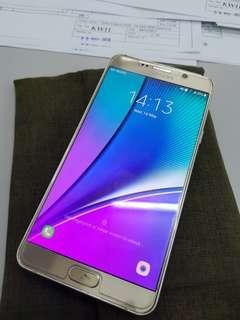Samsung Galaxy Note 5 Gold 32gb