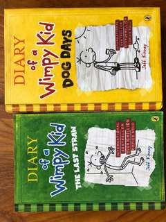 Diary of a Wimpy Kid - 2 books