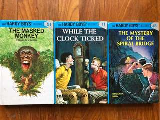 Hardy Boys - 3 books