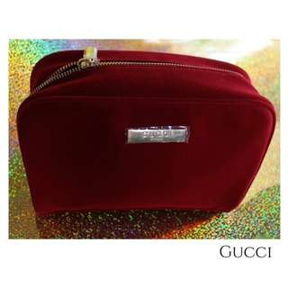 Gucci Parfums Red Velvet Large Pouch