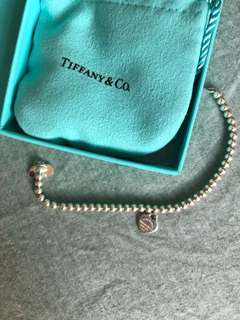 Authentic Tiffany and co signature bracelet