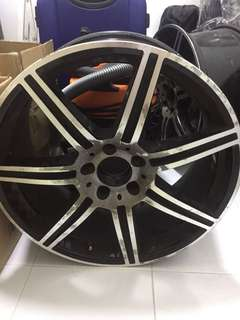"""Used 19"""" AMG rims for sale (4pcs for $500)"""