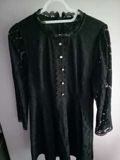 Little lacy black dress