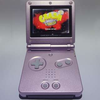 Gameboy Advance SP (AGS-101) with 3 games