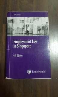 Employment Law in Singapore (Lexis Nexis)