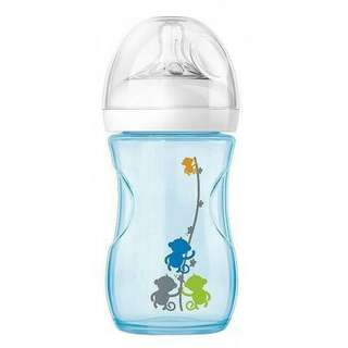 Botol Susu Philips Avent Natural Blue Deco
