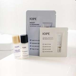 Iope Skincare Sample Set Trial Kit