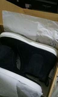 Ftale footwear black nubuck