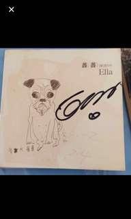SHE Ella Autographed single fm Taiwan