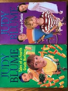 Judy Blume series - 2 books
