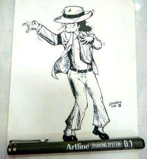 MJ drawing