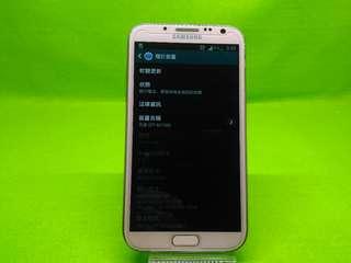 🚚 SAMSUNG GALAXY Note II 16GB 功能正常八成新全新電池全新玻璃貼