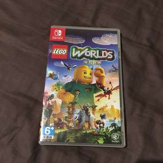 nintendo switch lego worlds