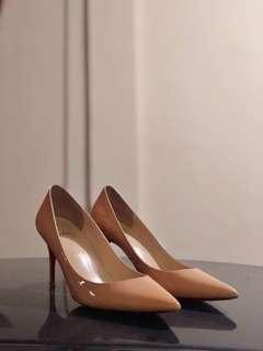 Christian Louboutin Nude Heels Mirror