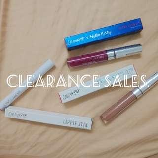 (SALES) Colourpop Ultra Matte Lip, Ultra Lippie Stix, Ultra Satin Lip