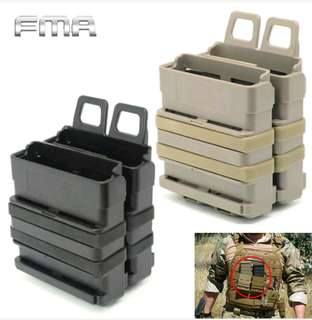 Tactical fast mag holders for Nerfs