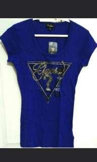 Brand New Guess Tshirt Blue