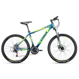 "Trinx 26"" Aluminum Mountain Bike / MTB ✩ Shimano 21 Speeds, Disc brakes, front suspension ✩ Brand new bicycles"