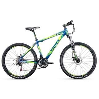 "Trinx 26"" Aluminum Mountain Bike / MTB ✩ Shimano 21 Speeds, Disc brakes, front suspension ✩ Brand new bicycles"
