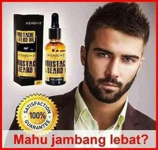 MENSIVE Moustache & Beard Oil - 30ml