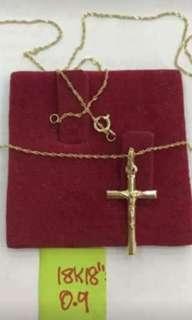 18k necklace gold...