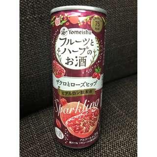 大減價!!!日本酒: 日本人氣美顏酒(石榴味)-Yomeishu出品