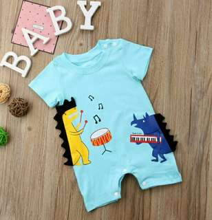 🍀Baby Girl Boy Short Sleeves Casual Romper🍀
