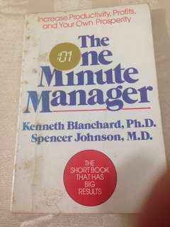 The One Minute Manager - Blanchard & Spencer #ramadan50