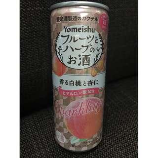 大減價!!!日本酒: 日本人氣美顏酒(白桃杏仁味)-Yomeishu出品