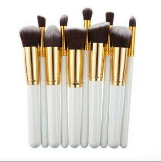 Kabuki 10pcs Make Up Brush
