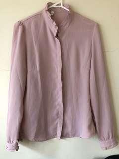 Lavender shirt size10