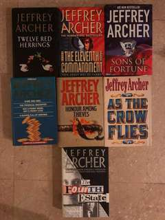 Jeffrey Archer Books