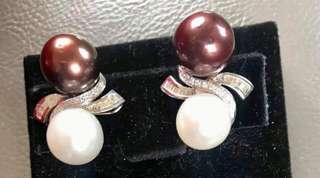 South sea pearl earring