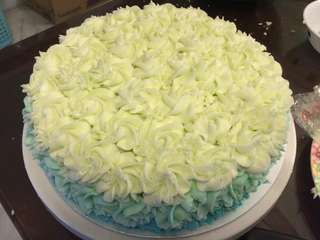 Butter icing cake 1kg